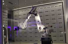 Robot Luggage Handlers - Yotel New York's Yobot Provides Excellent Customer Service