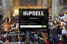 Social Media Classifieds - Hipsell Website Uses Your Social Network to Sell Your Stuff