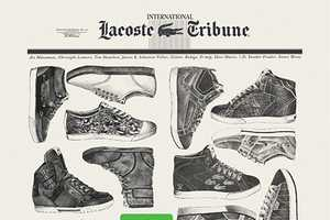 Lacoste Legends Line Merges Shoes, Music and Media