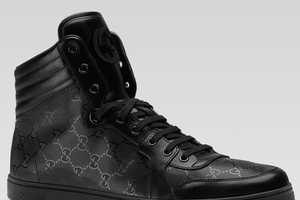The Gucci Hi Top Lace Up Sneaker for Men Exudes Style & Luxury