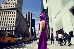The Luna Teifke One Magazine Editorial Features the Big Apple