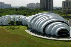 Studio Nicoletti Associati's Pod Pavilion is Inspired by Water Drops