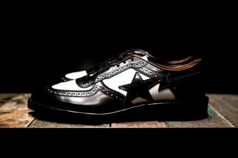 BAPE Longwing Brogue