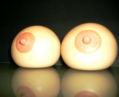 Japanese squeezable stress boobs