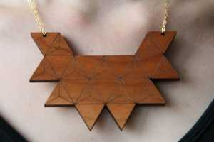 This Rebecca Boatfield Jewelry is Wooden & Wonderful