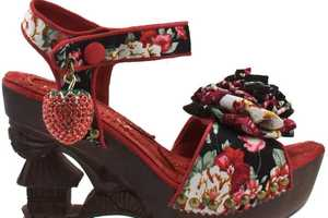 The Irregular Choice Oriento Sun Shoes Have Oriental Flair
