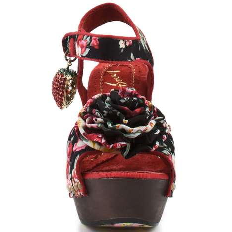 Irregular Choice Oriento Sun shoes