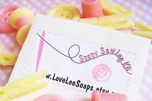 The Love Lee Soap Sewing Kit Makes Bath Time Fun