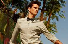 Preppy Summer Menswear - Terron Wood is a Dapper Nerd for Arnaldo Anaya-Lucca in GQ Germany