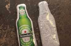 Beeriffic T-Shirt Packaging - The Heineken x UNION x Freshness T-Shirt Comes in its Own Six-Pack