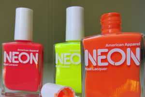 American Apparel's Limited Edition Neon Nail Polish for Summer