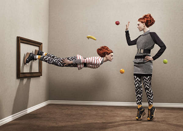 Levitating Clone Photography