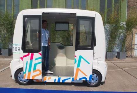 Self-Driven Mini Vehicles - VIPA is a Driverless and Eco-Conscious Automobile