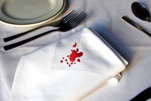 These Out Damned Spot Linen Cloths Confuse Guests