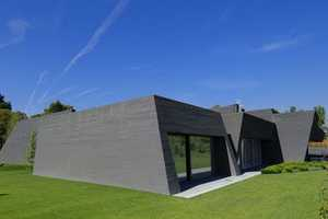 The Joaquin Torres A-Cero Concrete House II is an Above-Ground Bunker