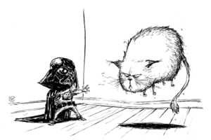Skottie Young Sketches Star Wars in a Comical Way