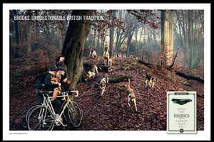 Brooks' Unquestionable British Tradition Ad is Fashionably Foresty