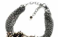 Clustered Chainwork Neckwear