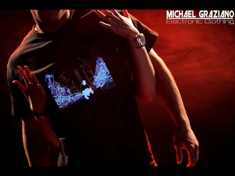 Michael Graziano Electronic Clothing