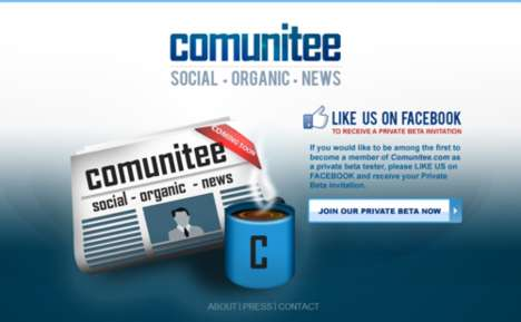 Friend-Filtered News - Comunitee Social News Uses Your Network to Deliver Relevant News Stories