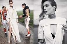Football Fashion Ensembles