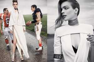 The 'Sport Chic' Kim Noorda for Vogue Taiwan May 2011 Editorial Scores