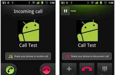 Interactive Communication Apps - ShakeCall App Simplifies Answering Calls on Android Devices