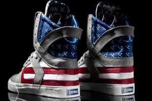 These Supra Flag Pack Skytop II Sneakers are Nationalist and Badass