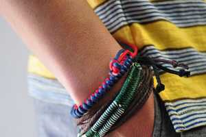 The Burkman Bros Woven Beach Bracelet is Understated & Stylish