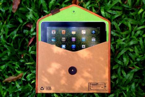 eco-friendly iPad sleeve
