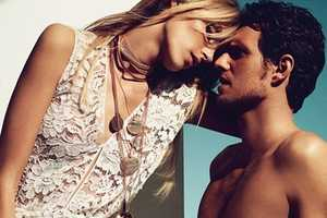 The Anja and Sasha for Vogue Germany June 2011 Editorial Radiates Love