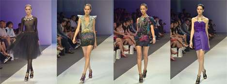 Virtual Real-Time Runways - FashForward Breaks Down Elite Fashion Barrier With Online Streaming