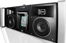 Modern-Day Boomboxes - The Altec Lansing MIX iMT810 Digital Boombox is Ready for the Streets