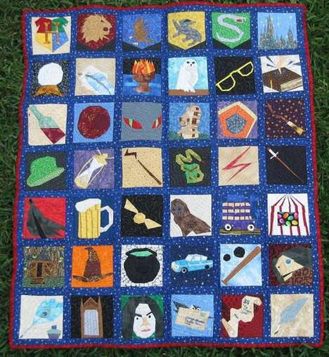 Harry Potter Quilt by Jennifer Ofenstein