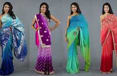 Rentable Indian Ensembles - Luxemi Clothing is a Direct Source for Sari Shopping