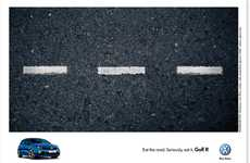 Edible Ads - The New Volkswagen Ad by Ogilvy South Africa Eats Up Competitors