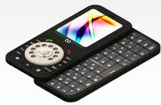 Retractable Rotary Cellphones - The Retro Dial Mobile is a Flashback Contemporary Phone