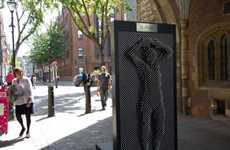 Pinscreen Public Sculptures