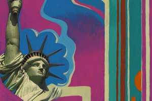 Thomas Fuchs' A Huddled Mass of Liberties Part II Paintings Show U.S. Landmarks
