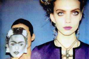 Emily Senko Was Inspired by Frida Kahlo for Marie Claire Italia