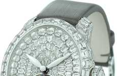 $500,000 Timepieces - Girard-Perregaux Cat's Eye Tourbillon Haute Joaillerie Watch is Decadent
