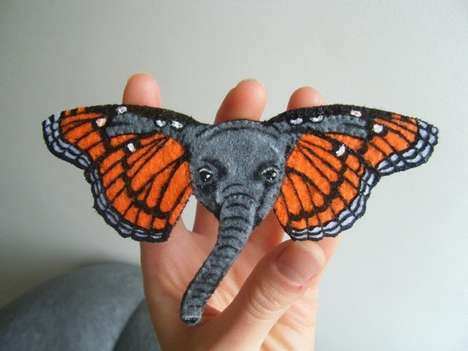 butterphant brooch
