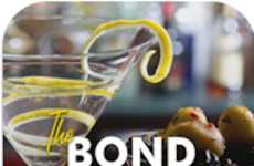 007-Inspired Booze Apps - The Bond Mixology App Documents Each of the Spy's Luscious Libations