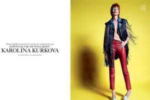 Karolina Kurkova is an Edgy Rockstar for Viva Moda Summer 2011