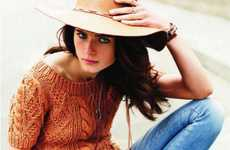 Couture Country Girl Lookbooks - Anna de Rijk in En Cavale has a Chic Farm Girl Flair