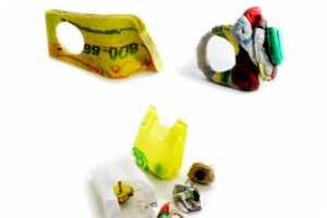 Giovannie Scafuro Creates Eco-Chic Jewelry From Old Plastic