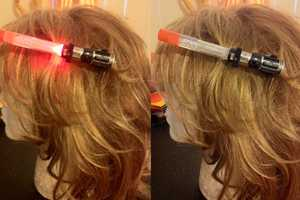 Star Wars Light Saber Hairclips Are Perfect For a Night Under the Galaxy