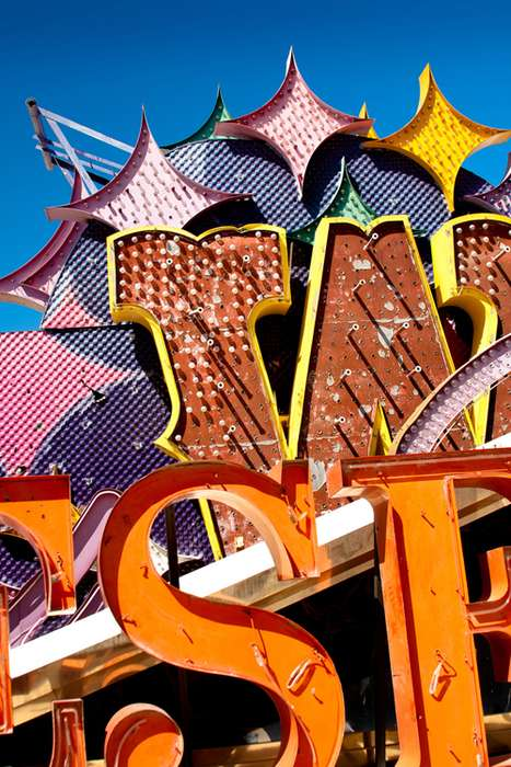 City Sign Graveyards - The Neon Museum is Where Las Vegas Lights Go to Die