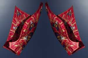 The Alexander McQueen God Save McQueen Scarves are Dangerous and Delicate