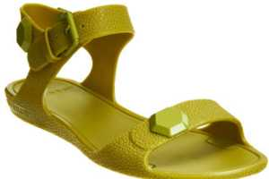 The Givenchy Jelly Sandal is Comfortable Yet Chic